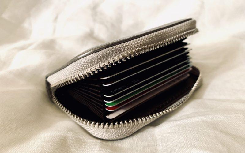 カードケースの内側